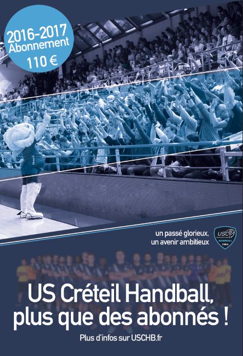 Abonnement USCHB 16-17
